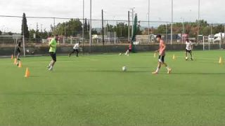 Soccer training ideas 3 (technical practice on stations)